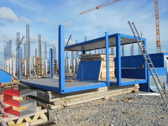 Prefabricated block containers